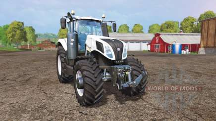New Holland T8.435 white для Farming Simulator 2015