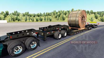 Fontaine Magnitude 55L cable roll для American Truck Simulator