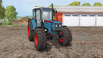 Eicher 2090 Turbo front loader для Farming Simulator 2015