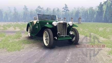 MG TC Midget 1948 для Spin Tires