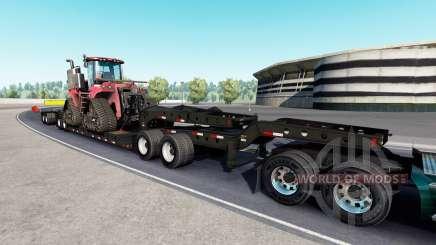Fontaine Magnitude 55L Case IH v1.1 для American Truck Simulator