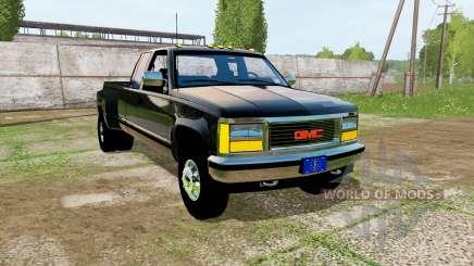 GMC Sierra One Ton 1992 для Farming Simulator 2017