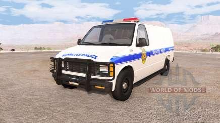 Gavril H-Series honolulu police для BeamNG Drive
