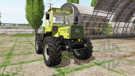 Mercedes-Benz Trac 800 v2.2 для Farming Simulator 2017
