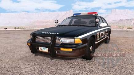 Gavril Grand Marshall NYPD v3.0 для BeamNG Drive