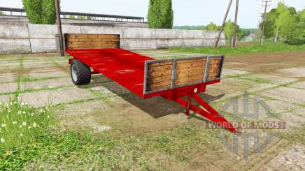 Transport trailer для Farming Simulator 2017