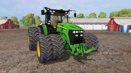 John Deere 7930 twin wheels для Farming Simulator 2015