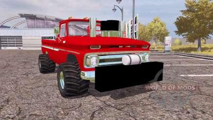 Chevrolet C10 1964 lifted для Farming Simulator 2013