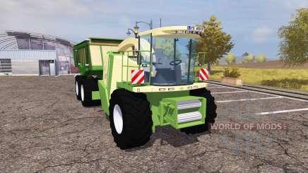 Krone BiG X 1100 cargo для Farming Simulator 2013