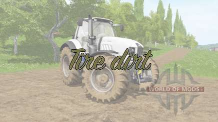 Tire dirt для Farming Simulator 2017