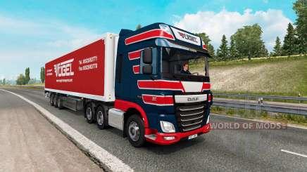 Painted truck traffic pack v2.6 для Euro Truck Simulator 2