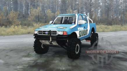 Ford F-series Petronas Suvium для MudRunner