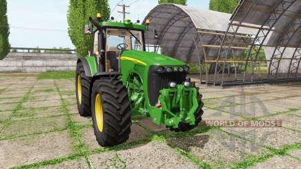 John Deere 8120 v4.0 для Farming Simulator 2017