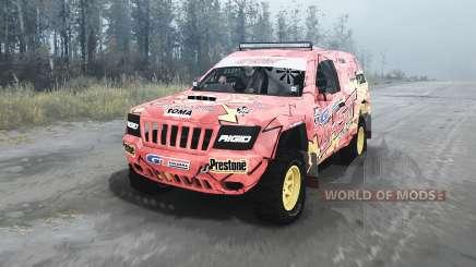 Jeep Grand Cherokee (WJ) Superwolf v1.04 для MudRunner