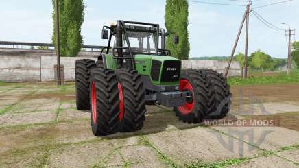 Fendt 920 Vario forest edition для Farming Simulator 2017