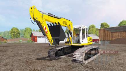 Liebherr A 900 C Litronic crawler для Farming Simulator 2015
