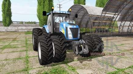 New Holland TG230 v3.0 для Farming Simulator 2017