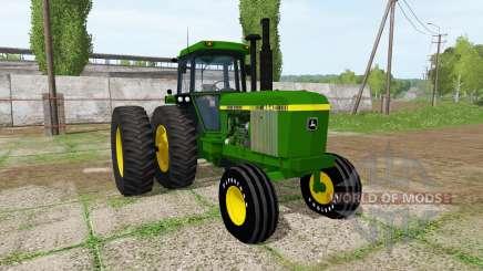 John Deere 4640 для Farming Simulator 2017