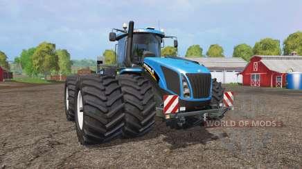 New Holland T9.565 twin wheels v1.2 для Farming Simulator 2015