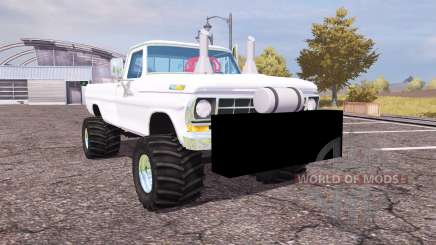Ford F-100 1972 highboy для Farming Simulator 2013