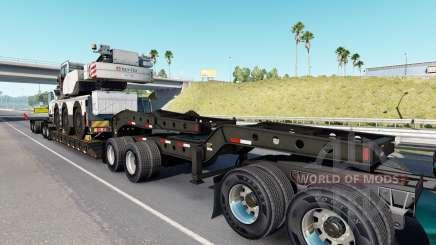Fontaine Magnitude 55L Terex v1.1 для American Truck Simulator