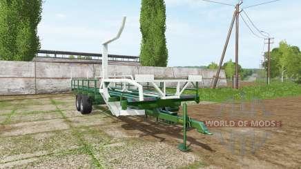 SIPMA self-loading bale trailer для Farming Simulator 2017