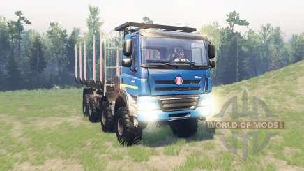 Tatra Phoenix T 158 8x8 v11.1 для Spin Tires