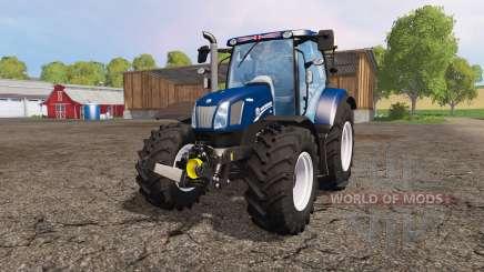 New Holland T6.160 blue power для Farming Simulator 2015