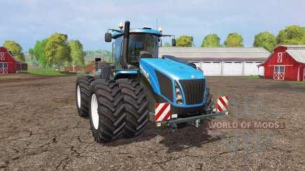 New Holland T9.565 twin wheels для Farming Simulator 2015