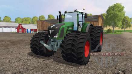 Fendt 936 Vario twin wheels для Farming Simulator 2015