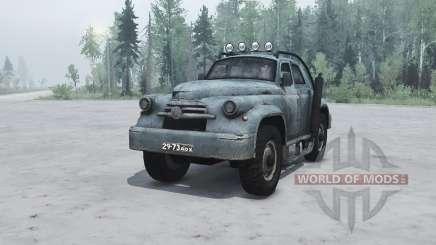 ГАЗ М 20 Победа custom для MudRunner