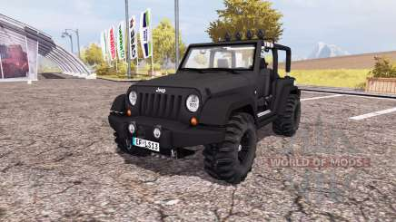 Jeep Wrangler (JK) v2.0 для Farming Simulator 2013