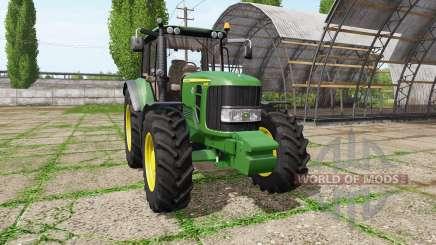 John Deere 6530 Premium для Farming Simulator 2017
