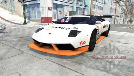 Lamborghini Murcielago R-SV GT1 для BeamNG Drive