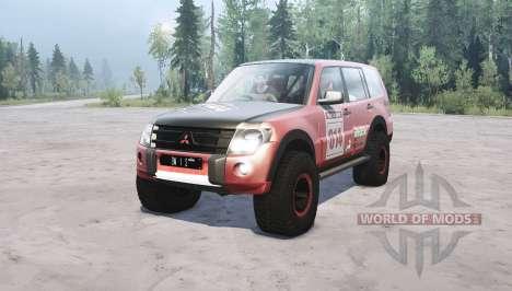 Mitsubishi Montero для Spintires MudRunner