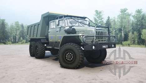 Урал 4320-1912-60 v1.1 для Spintires MudRunner