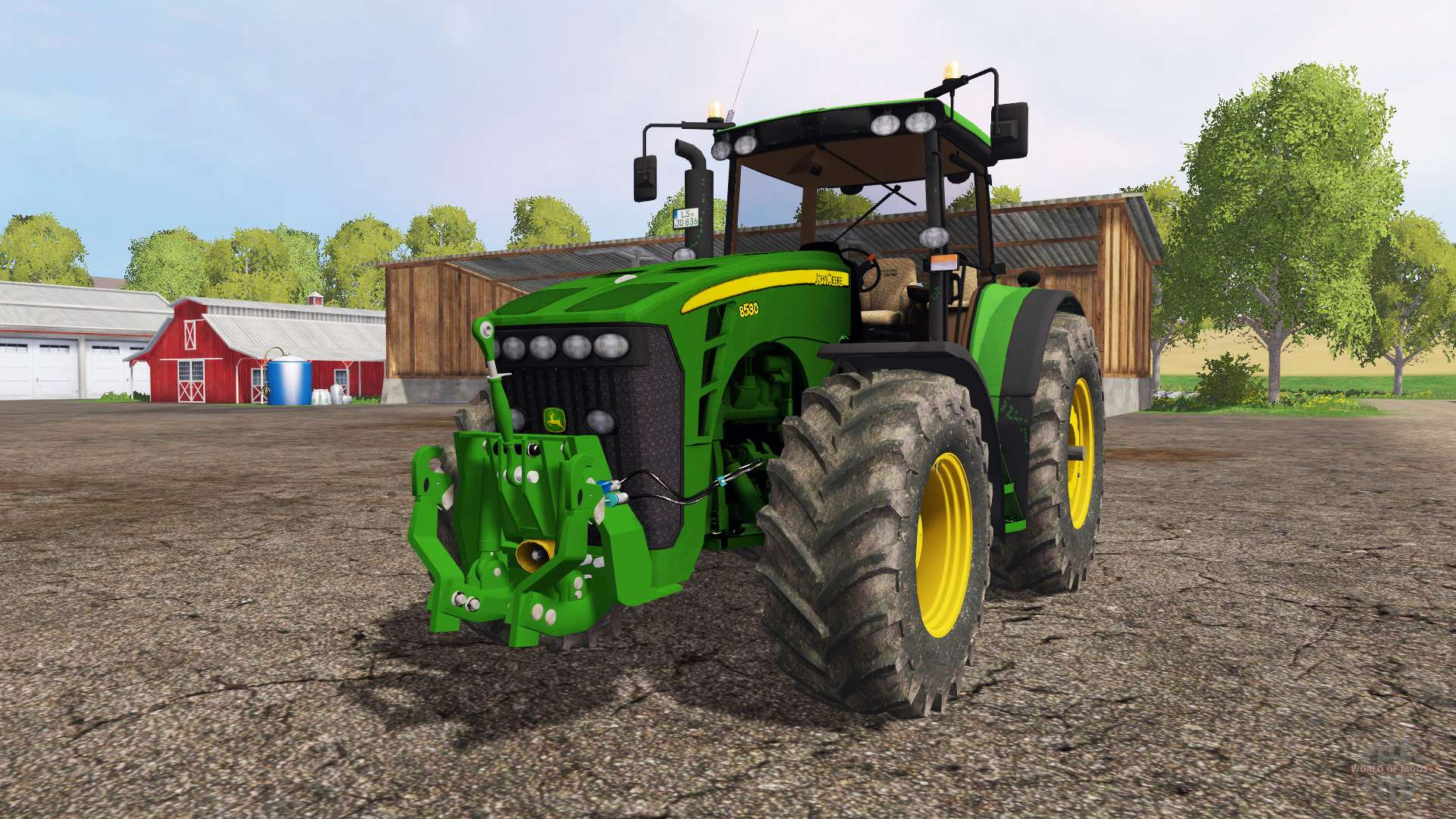 Компактный, но незаменимый трактор МТЗ-320