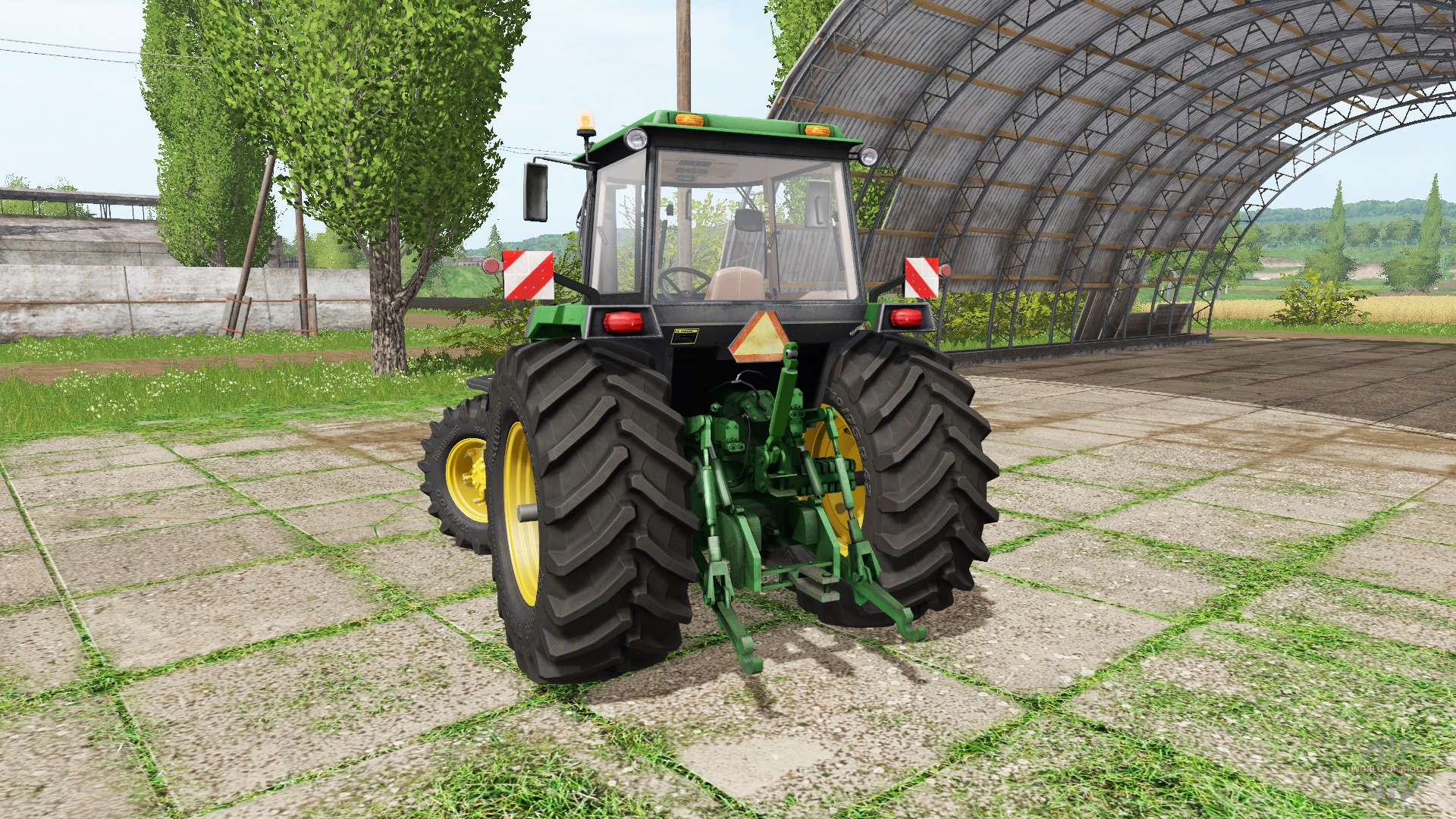 Трактора для Farming Simulator 2015 с автоматической.
