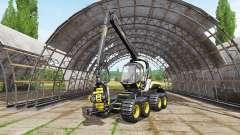 PONSSE ScorpionKing v1.3 для Farming Simulator 2017