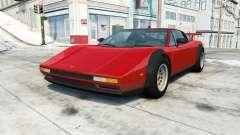 Civetta Bolide supercar v1.1 для BeamNG Drive