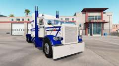 Скин Rollin White на тягач Peterbilt 389 для American Truck Simulator