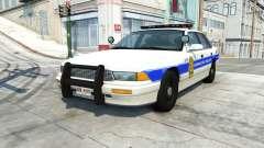 Gavril Grand Marshall honolulu police v1.03 для BeamNG Drive