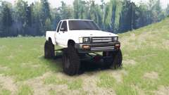 Toyota Hilux Xtra Cab 1994 для Spin Tires