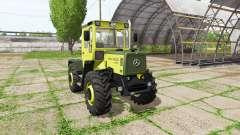 Mercedes-Benz Trac 800 v2.3 для Farming Simulator 2017
