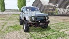 Land Rover Defender 90 для Farming Simulator 2017