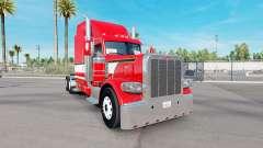 Скин Red Dragon на тягач Peterbilt 389 для American Truck Simulator