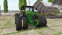John Deere 6230R v4.0 для Farming Simulator 2017