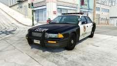 Gavril Grand Marshall belasco police для BeamNG Drive