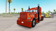 Скин Brown Dust на тягач Peterbilt 389 для American Truck Simulator