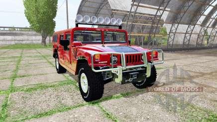Hummer H1 для Farming Simulator 2017
